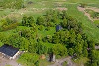Zamek w Radoszycach - Widok z lotu ptaka, fot. ZeroJeden, V 2020