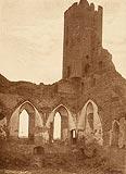 Zamek w Radzyniu Chełmińskim - Zamek w Radzyniu na zdjęciu Henryka Gąsiorowskiego z lat 1927-39