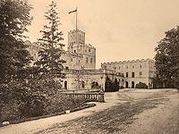 Zamek w Ratnie Dolnym - Robert Weber, Schlesische Schlosser, 1909