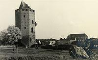 Zamek w Rawie Mazowieckiej - Zamek w Rawie na zdjęciu z 1937 roku
