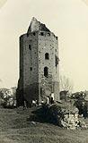Rawa Mazowiecka - Zamek w Rawie na zdjęciu z 1937 roku
