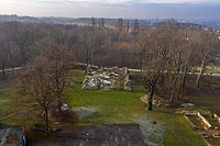Zamek w Rudzie Śląskiej - fot. ZeroJeden, XII 2020