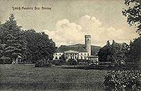 Zamek w Rudnicy - Dwór w Rudnicy na pocztówce z lat 1910-30
