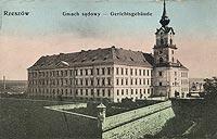 Zamek w Rzeszowie - Zamek na pocztówce z okresu międzywojennego