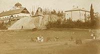 Zamek w Rzeszowie - Zamek w Rzeszowie na krótko przed rozbiórką, zdjęcie z 1902 roku