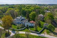 Zamek w Sancygniowie - Widok z lotu ptaka, fot. ZeroJeden, V 2020