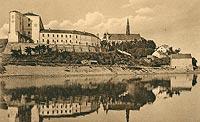 Sandomierz - Zamek i katedra w okresie międzywojennym