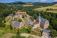 Ścinawka Górna - Zdjęcie lotnicze, fot. ZeroJeden, VII 2019