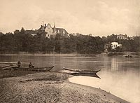 Zamek w Siedlisku - Robert Weber, Schlesische Schlosser, 1909