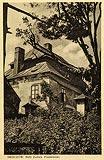 Dwór w Skoczowie - Dwó w Skoczowie na pocztówce z lat 30. XX wieku