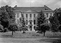 Zamek w Słońsku - Zdjęcie z okresu międzywojennego