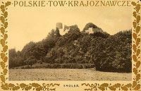 Zamek w Smoleniu - Zamek Smoleń na pocztówce z 1905 roku