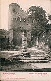 Zamek Chojnik w Sobieszowie - Zamek na widokówce z 1903 roku