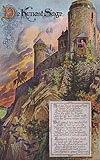 Zamek Chojnik w Sobieszowie - Zamek na widokówce z 1931 roku