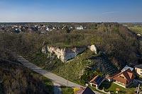 Zamek w Solcu nad Wisłą - Zdjęcie lotnicze, fot. ZeroJeden, IV 2021