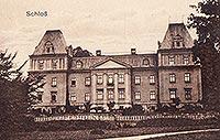 Zamek w Stolcu - Zamek w Stolcu na pocztówce z około 1905 roku