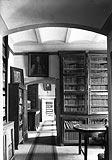 Dwór w Suchej Beskidzkiej - Wnętrza zamku w Suchej na fotografii z 1928 roku