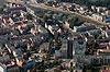 Zamek w Świdnicy - Widok z lotu ptaka od północnego-wschodu, fot. ZeroJeden, X 2013