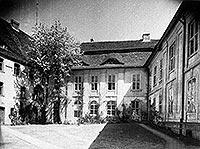 Zamek w Świdwinie - Zamek w Świdwinie na pocztówce z lat 20. XX wieku
