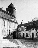 Świdwin - Zamek w Świdwinie na pocztówce z lat 20. XX wieku