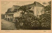 Zamek w Świebodzinie - Zamek w Świebodzinie na widokówce z początków XX wieku