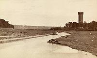 Zamek w Świeciu - Zamek w Świeciu na zdjęciu Zdzisława Marcinkowskiego z lat 20. XX wieku