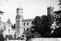 Zamek w Świerklańcu - Zamek w Świerklańcu na zdjęciu z 1933 roku
