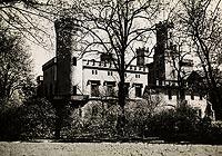 Zamek w Świerklańcu - Zamek w Świerklańcu na zdjęciu Henryka Poddębskiego sprzed 1939 roku