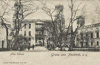 Zamek w Świerklańcu - Zamek w Świerklańcu na pocztówce z lat 1910-20