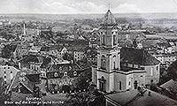 Zamek w Szprotawie - Zamek w Szprotawie na zdjęciu z 1944 roku