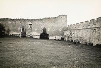 Zamek w Szydłowie - Zamek w Szydłowie na zdjęciu Henryka Poddębskiego z około 1936 roku