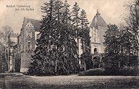 Zamek w Szymbarku - Zamek w Szymbarku około 1914 roku