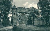 Szymbark - Zamek w Szymbarku w 1930 roku