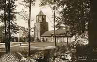 Zamek w Toszku - Zamek w Toszku w początkach XX wieku