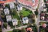 Zamek w Trzebnicy - Widok z lotu ptaka od północnego-zachodu, fot. ZeroJeden, X 2013