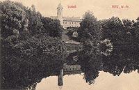 Zamek w Tucznie - Zamek na widokówce z okresu międzywojennego