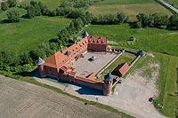 Zamek w Tykocinie - Zdjęcie z lotu ptaka, fot. ZeroJeden, VI 2019