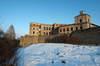 Zamek Krzyżtopór w Ujeździe - Zachodni fragment umocnień, fot. ZeroJeden, XII 2005