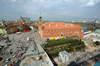 Zamek Królewski w Warszawie - Widok od południa, fot. ZeroJeden, IV 2005