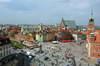Zamek Królewski w Warszawie - Widok od południa na Plac Zamkowy, fot. ZeroJeden, IV 2005