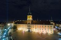 Zamek Królewski w Warszawie - Zdjęcie z lotu ptaka, fot. ZeroJeden IX 2018