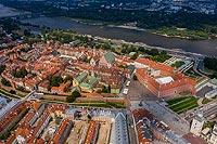 Zamek Królewski w Warszawie - Zdjęcie lotnicze, fot. ZeroJeden, VII 2019