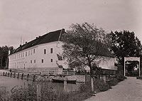 Zamek w Węgorzewie - Zamek na zdjęciu z lat 20. XX wieku