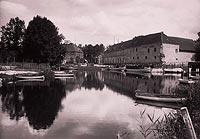 Zamek w Węgorzewie - Zamek na zdjęciu Dankelmanna z 1926 roku