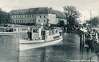 Zamek w Węgorzewie - Zamek w Węgorzewie w 1937 roku