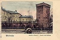 Zamek żupny w Wieliczce - Zamek w Wieliczce na zdjęciu z 1901 roku