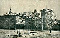Zamek żupny w Wieliczce - Zamek w Wieliczce na zdjęciu z 1918 roku