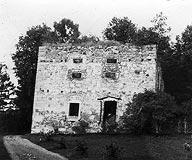 Dwór w Wieruszycach - Dwór w Wieruszycach na zdjęciu z okresu międzywojennego