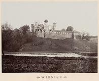 Zamek w Wiśniczu Nowym - Zamek w Wiśniczu na zdjęciu Józefa Zajączkowskiego z 1905 roku