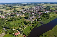 Zamek w Wiźnie - Zdjęcie z lotu ptaka, fot. ZeroJeden, VI 2019
